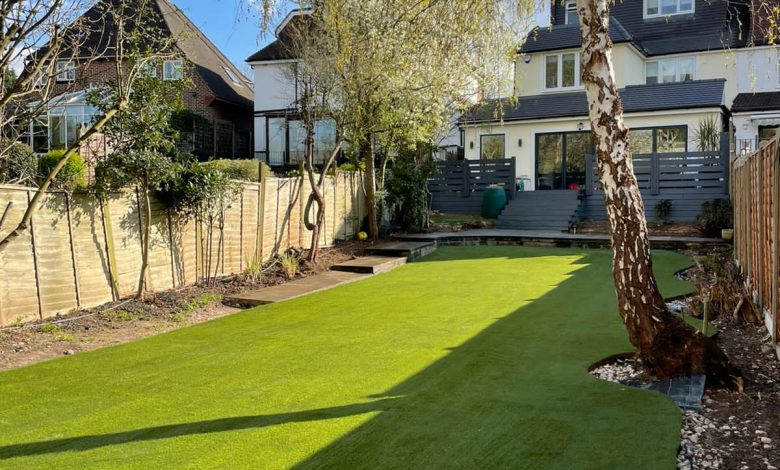 Home Artificial Turf Installation