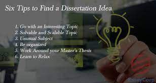Photo of Six Tips to Help Find a Dissertation Topics-Tips For Students