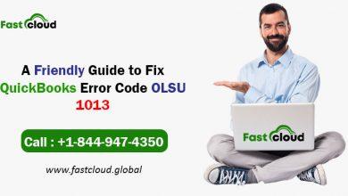 Photo of A Friendly Guide to Resolve QuickBooks Error Code OLSU 1013