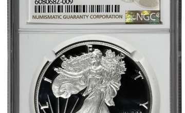Photo of 1986 American Silver Eagles Coins